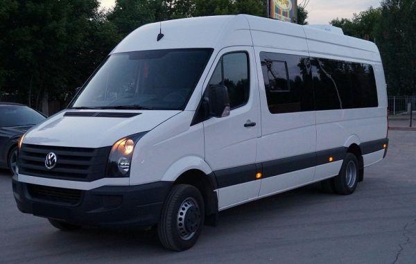 аренда микроавтобуса фольцваген